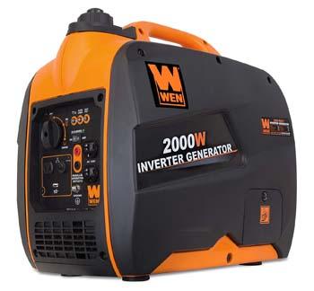 2. WEN 56200i Super Quiet 200- watt Portable Inverter Generator