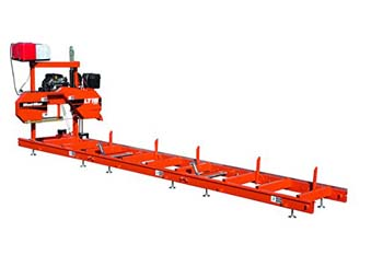 7: Wood-Mizer LT15 Portable Sawmill with 19 HP Gas Engine