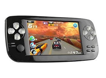 5. Handheld Game Console, PAP-KIII Retro Game Console 4.3 Inch TFT Screen Portable Game Console