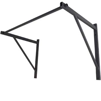 8. Titan Fitness Wall Mounted Pull Up Chin Up Bar Cross