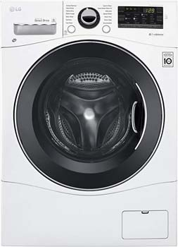 3. LG WM3488HW 24 Inch Washer/Dryer
