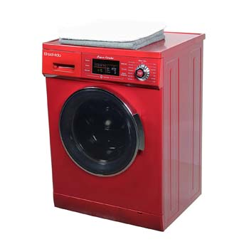 9. All in one 1.6 cu. ft. Compact Combo Washer and Electric Dryer with Optional Condensing/Venting and Sensor Dry