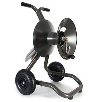 2. Eley Two Wheel Garden Hose Reel Cart