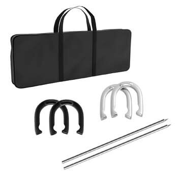 8. Trademark Games Professional Horseshoe set