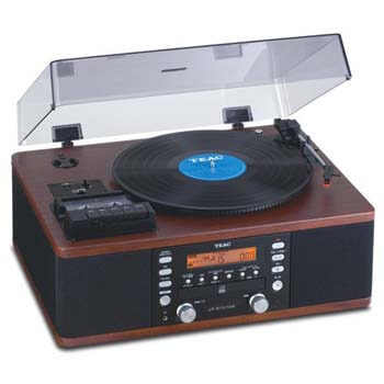 09. Teac LPR550 Turntable Entertainment Center
