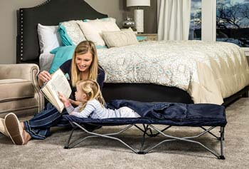 2. Regalo My Cot Portable Toddler Bed