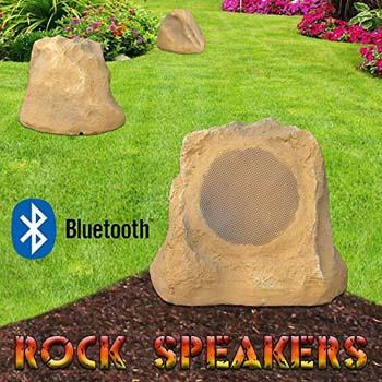 4. Bluetooth Outdoor Rock Speaker