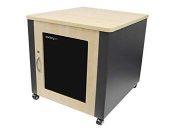 8. StarTech.com 12u Rack Enclosure Server Cabinet