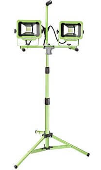 6. PowerSmith PWL2140TS dual head 4000 Lumen LED work light