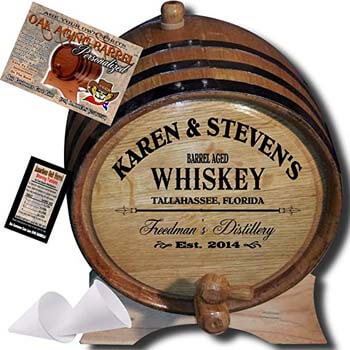 5. American oak barrel.