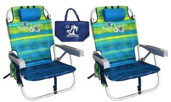 6. Tommy Bahama Green Beach Chair