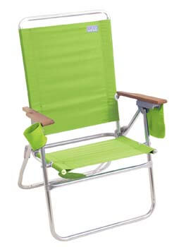 10. Rio Hi-Boy Beach Chair