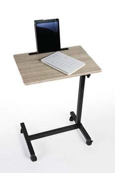 8. Adjustable Height Rolling Laptop Desk