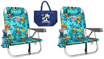 8. Tommy Bahama Turquoise Beach Chair