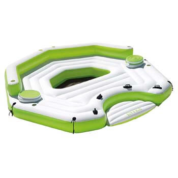 2. Intex Key Largo Inflatable Island Raft