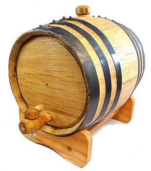 7. Premium charred American oak Aging Barrel.