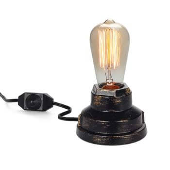 3). Vintage Table Lamp