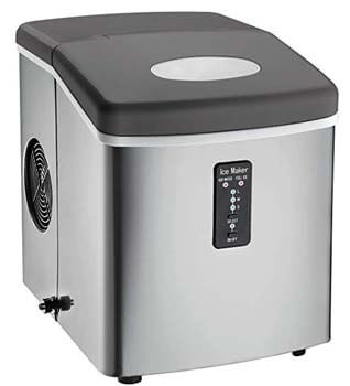 2. Igloo ICE103 Stainless Steel Ice Maker
