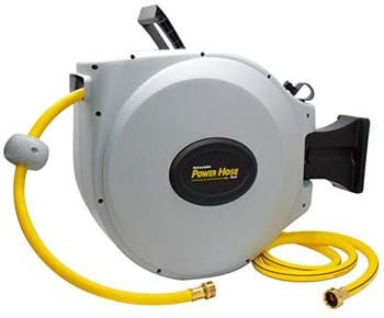 "8. Power Retractable Hose Reel 5/8"" x 50 ft"