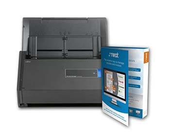 2: Fujitsu ScanSnap iX500 Document Scanner