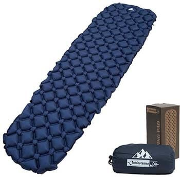 3). Outdoorsman Lab Ultralight Sleeping Pad