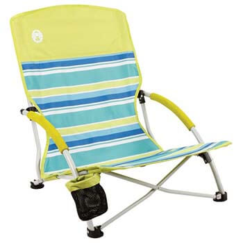 2. Coleman Utopia Beach Sling Chair