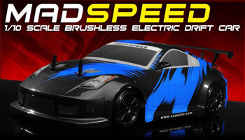 10. Exceed RC MadSpeed Brushless Edition Electric Car.