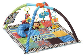 1. Infantino Twist and Fold Activity Gym