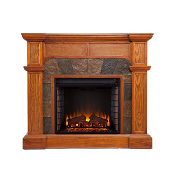 3. Southern Enterprises Cartwright Convertible Electric Fireplace