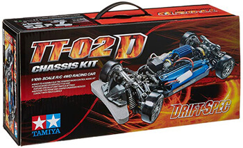 2. Tamiya 1/10 RC Car Series No.584 TT-02D Chassis Kit