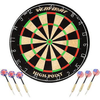 2. Win.max Blade 18-Inch Bristle Dartboard