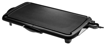 7. Presto 07037 Jumbo Cool Touch Electric Griddle, Black
