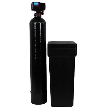 6. Metered water softener with 3/4