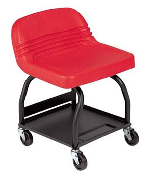1. Whiteside Mfg HRS-R High Rise Padded Seat - Red