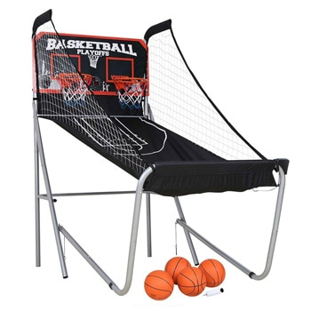 10. HLC Two-Player Arcade Electronic Basketball Game