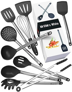 5. Kitchen Utensil Set - 10 Cooking Utensils