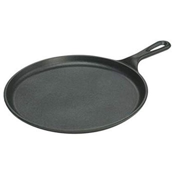 1. Lodge 10.5 Inch Cast Iron Griddle