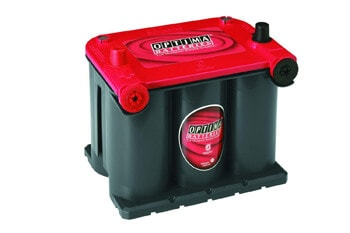 9. Optima Batteries 8022-091 75/25 RedTop Starting Battery