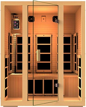 4. JNH Lifestyles MG301HCB MG317HB Far Infrared Sauna