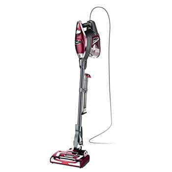 10. SharkNinja Rocket DeluxePro Ultra-Light Upright Corded Stick Vacuum Bordeaux