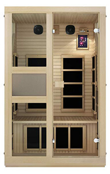 6. JNH Lifestyles NE2HB1 NE2HB Far Infrared Sauna