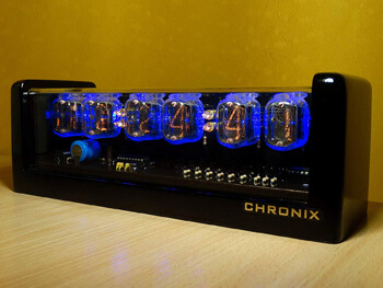5. Vintage Nixie Tube Clock