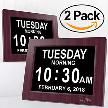 7. American lifetime day clock extra large