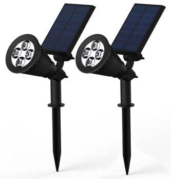 8. Blacklemon Solar Lights, BlackLemon 2-in-1