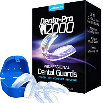 3. DentaPro2000 Teeth Grinding Mouth Guard Eliminates Grinding
