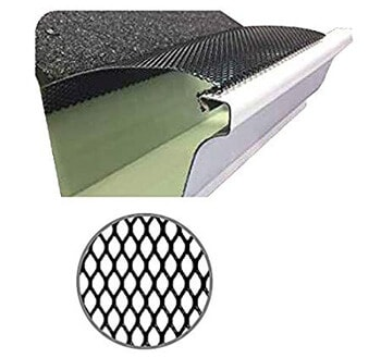 7. (100 feet) Ultra Flo Leaf Guard Gutter Protector for 6