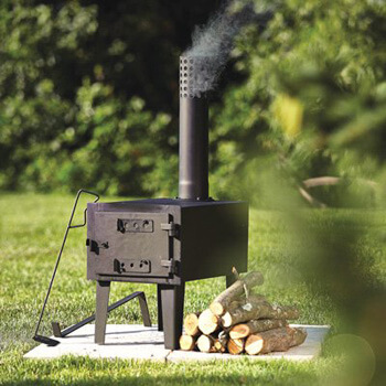 10. Kotulas Outdoor Wood-Burning Stove