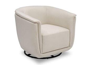 8. Delta Children Skylar Nursery Glider Swivel Rocker Tub Chair