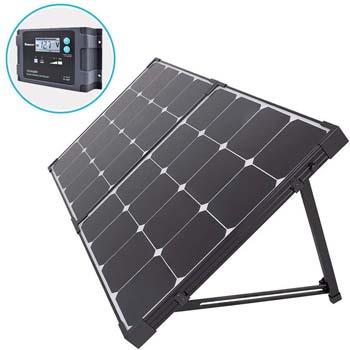 10: Renogy 100 Watt Eclipse Monocrystalline Charge 20A Voyager