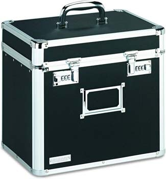 10. Vaultz Locking File Security Box, Letter Size